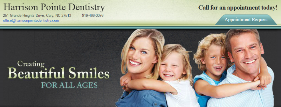 Harrison Pointe Dentistry reviews | 251 Grande Heights Dr - Cary NC