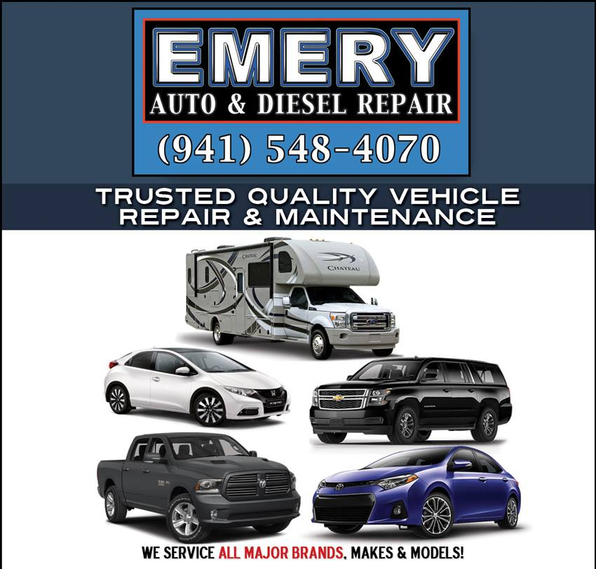 Emery Auto & Diesel Repair Inc. reviews | 6436 San Casa Dr - Englewood FL