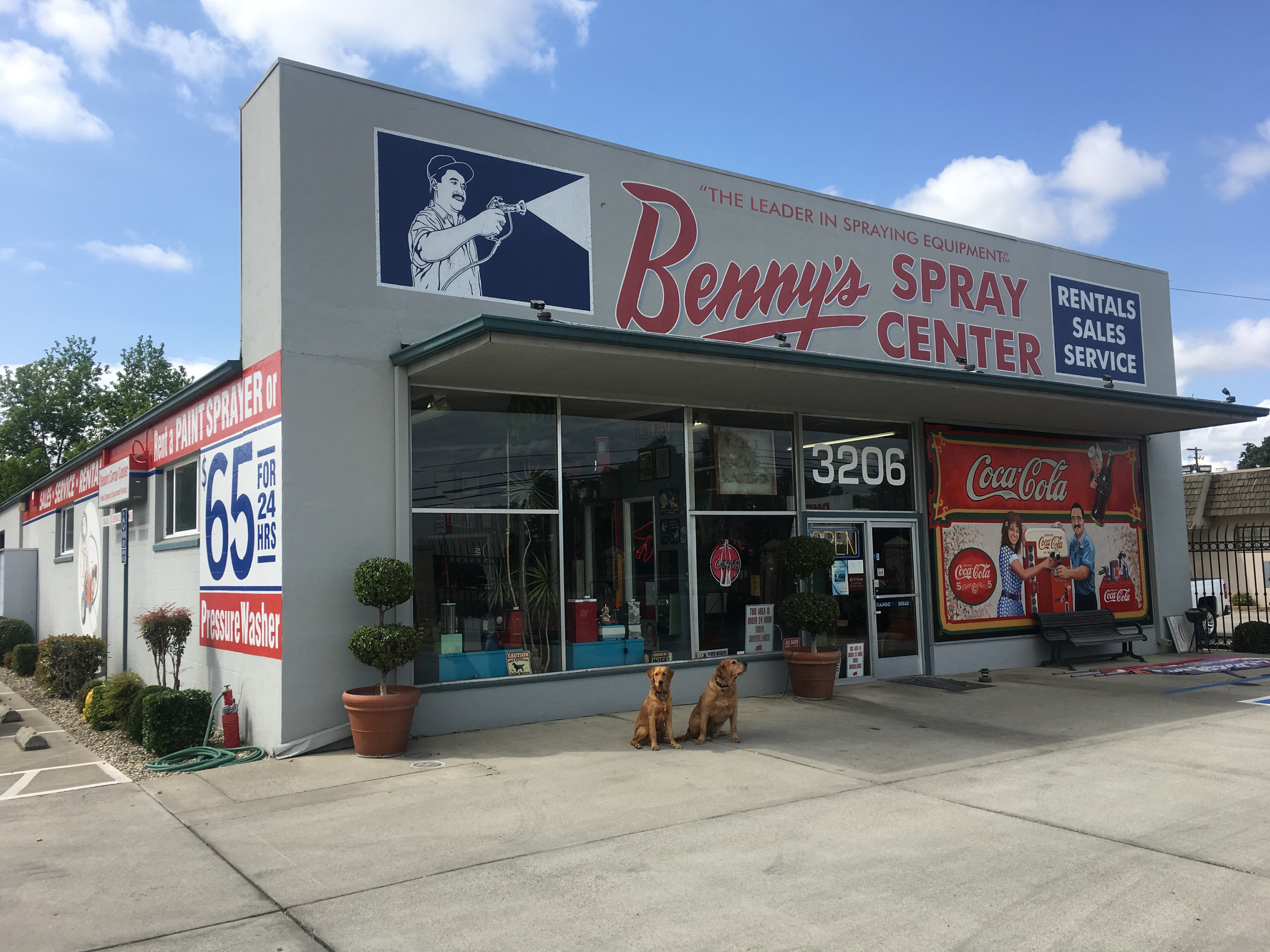 Benny's Spray Center reviews | 3206 E Fremont St - Stockton CA