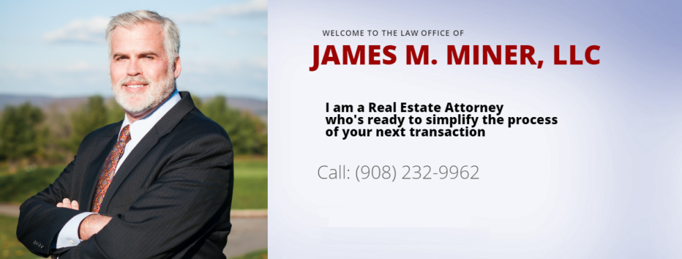 Law Office of James Miner reviews | 226 St Paul St - Westfield NJ