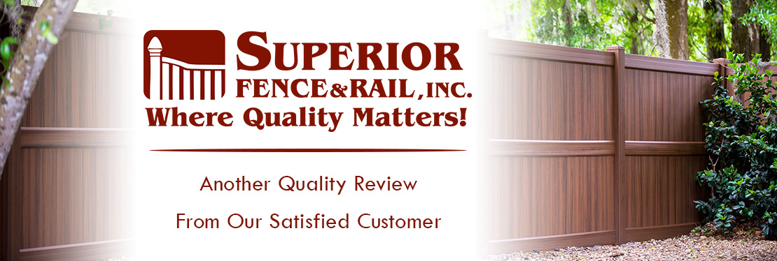 Superior Fence & Rail of Pasco County, Inc. reviews | 6812 Industrial Ave, Unit 3 - Port Richey FL