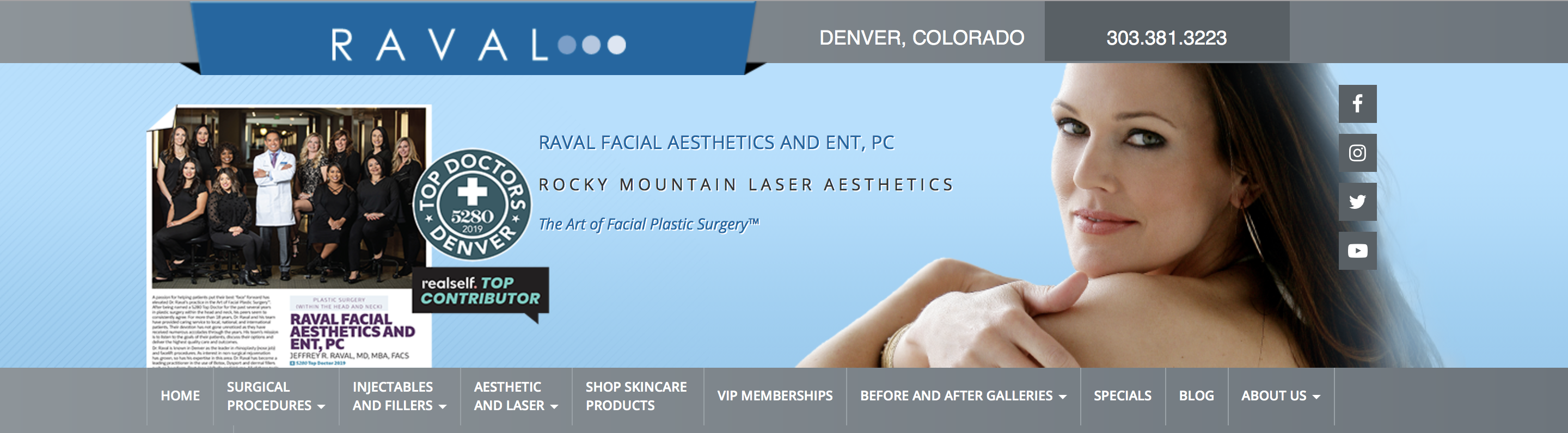Raval Facial Aesthetics reviews | 3773 Cherry Creek N Dr #132 - Denver CO