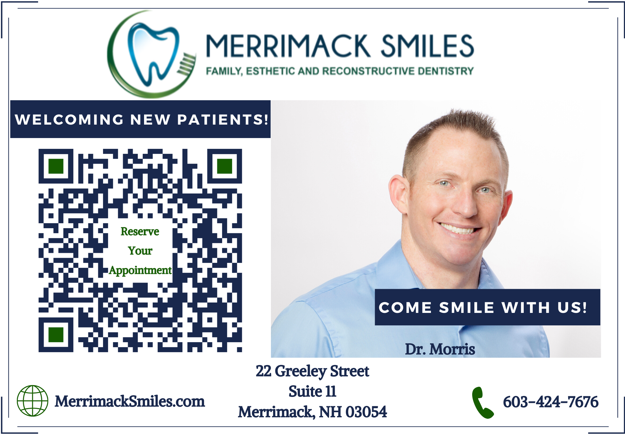 Merrimack Smiles reviews | 22 Greeley Street - Merrimack NH