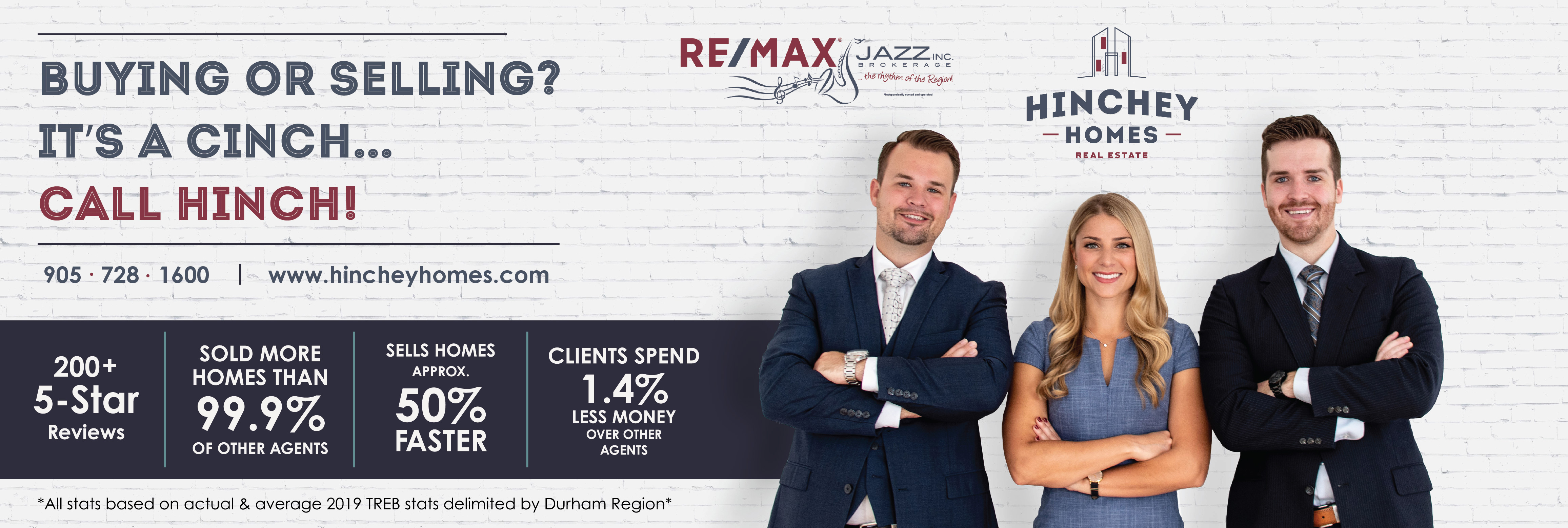 The Hinchey Homes Team - Re/Max Jazz reviews | 193 King Street East - Oshawa ON