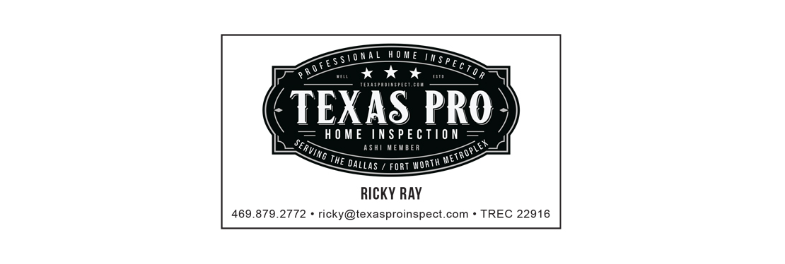 Texas Pro Home Inspection reviews | 6069 Lochshire Drive - Fort Worth TX