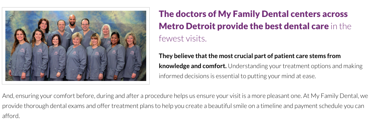 My Family Dental - Novi reviews | 24033 Meadowbrook Rd - Novi MI