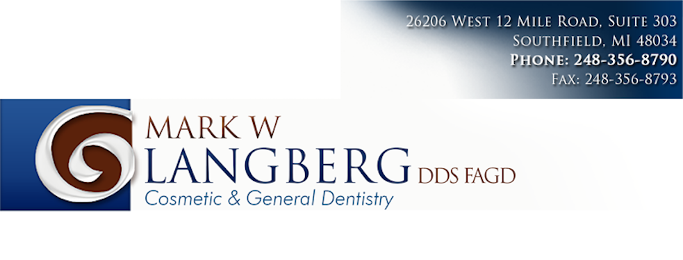 Mark W Langberg, DDS, MAGD, PC reviews | 26206 W 12 Mile Rd - Southfield MI