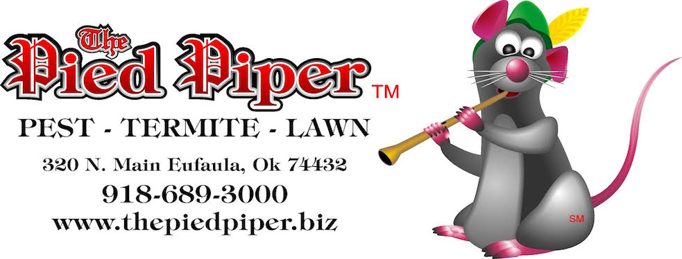 Pied Piper Pest, Termite & Lawn Service reviews | 320 North Main Street - Eufaula OK