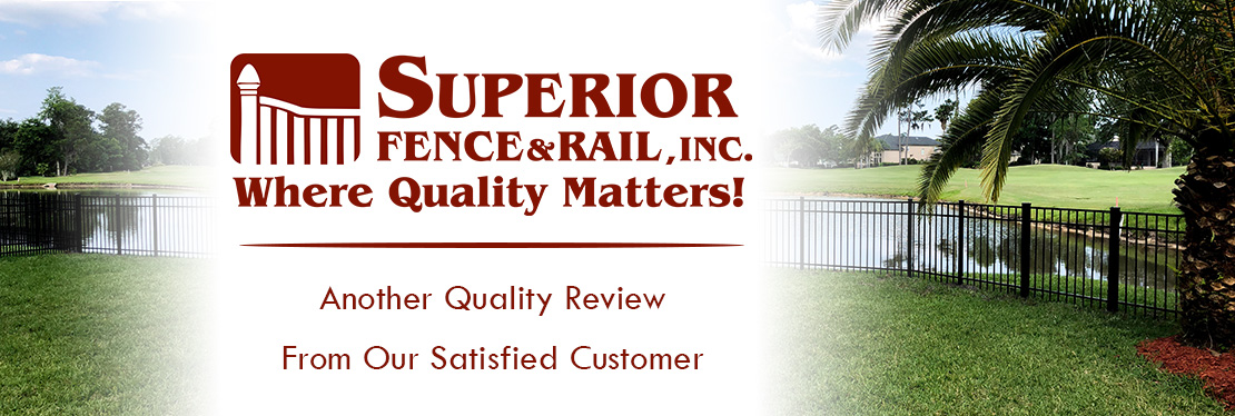 Superior Fence & Rail of West Florida, Inc. reviews | 2383 Industrial Blvd d - Sarasota FL