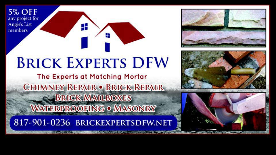 Brick Experts DFW reviews | 3222 Red Bird Lane - Grapevine TX
