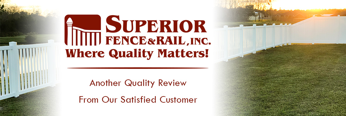 Superior Fence & Rail of Pensacola, Inc. reviews | 2906 Avalon Blvd - Milton FL
