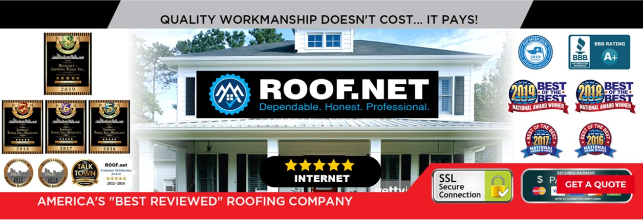 Roof.net reviews | 4094 Majestic Ln - Fairfax VA