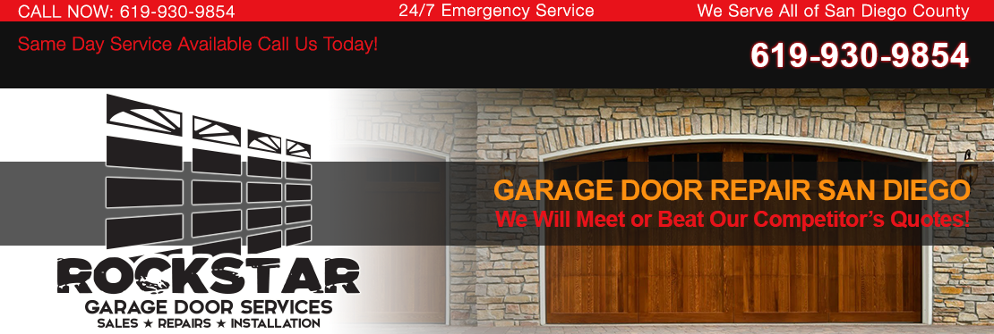 Rockstar Garage Door Services reviews | 4455 Murphy Canyon Rd - San Diego CA
