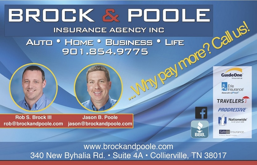 Brock and Poole Insurance Agency reviews | 340 New Byhalia Road - Collierville TN