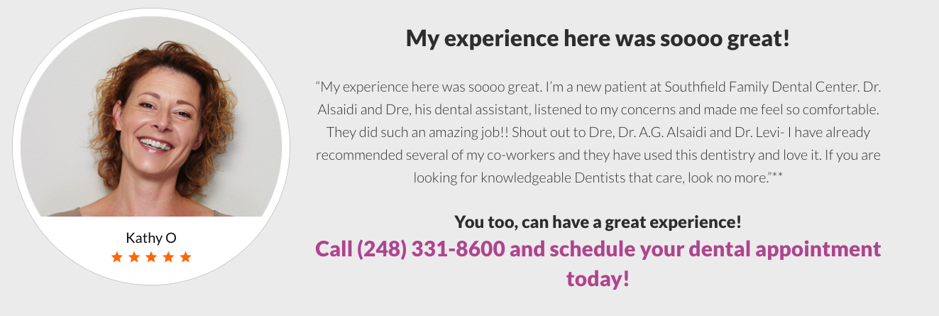 Southfield Family Dental Center reviews | 18800 W 10 Mile Rd - Southfield MI