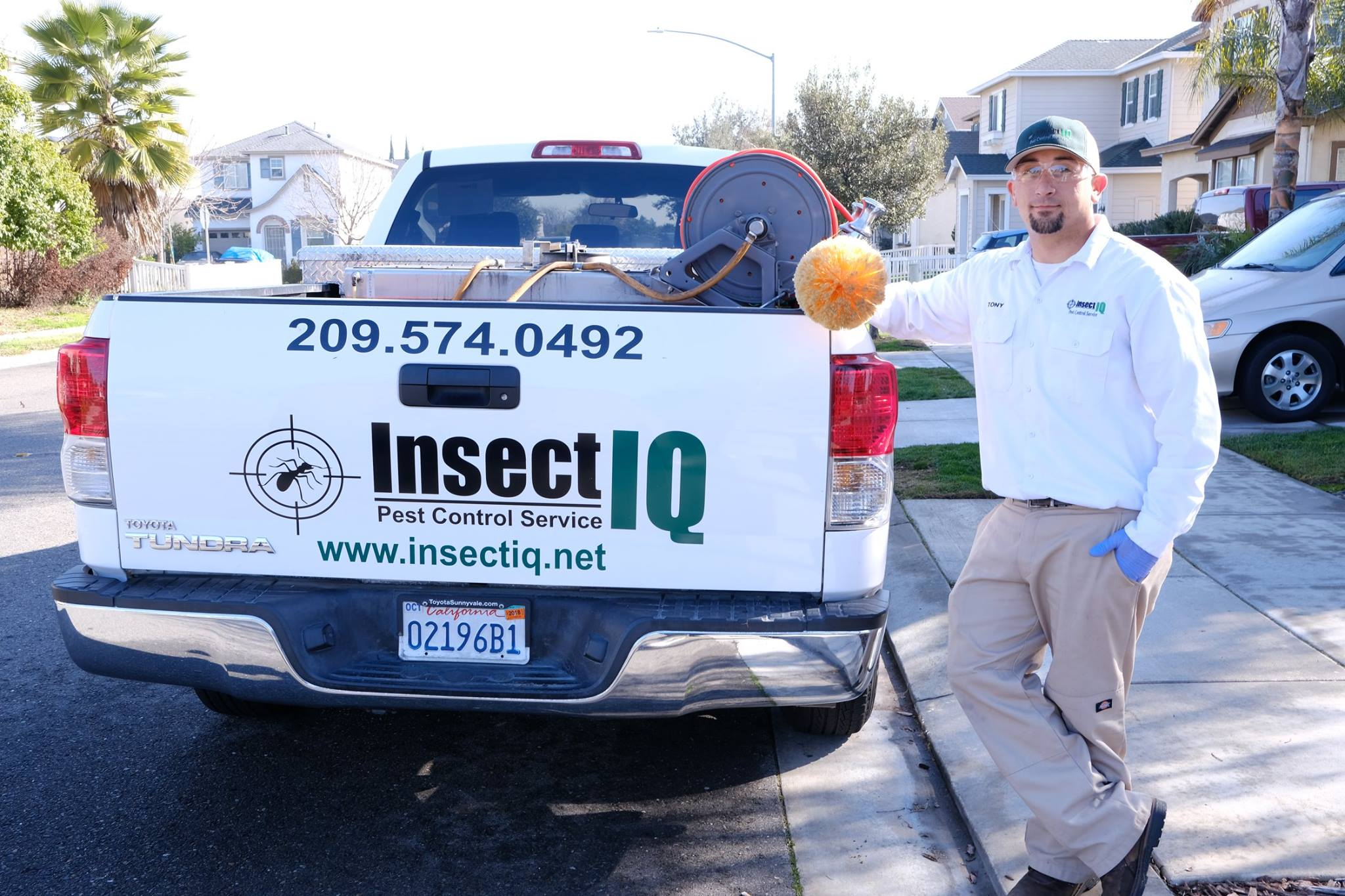 Insect IQ, Inc. reviews | 406 Motor City Court - Modesto CA