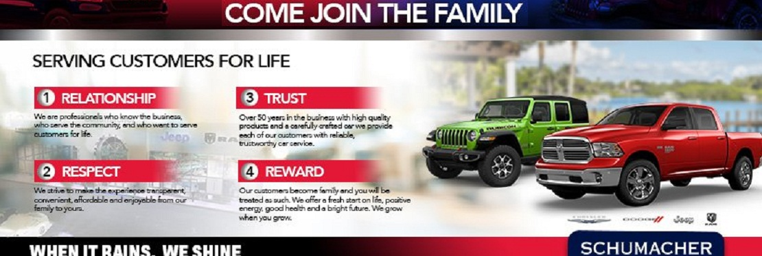 Schumacher Chrysler Dodge Jeep Ram of Delray reviews | 2102 S Federal Hwy A - Delray Beach FL